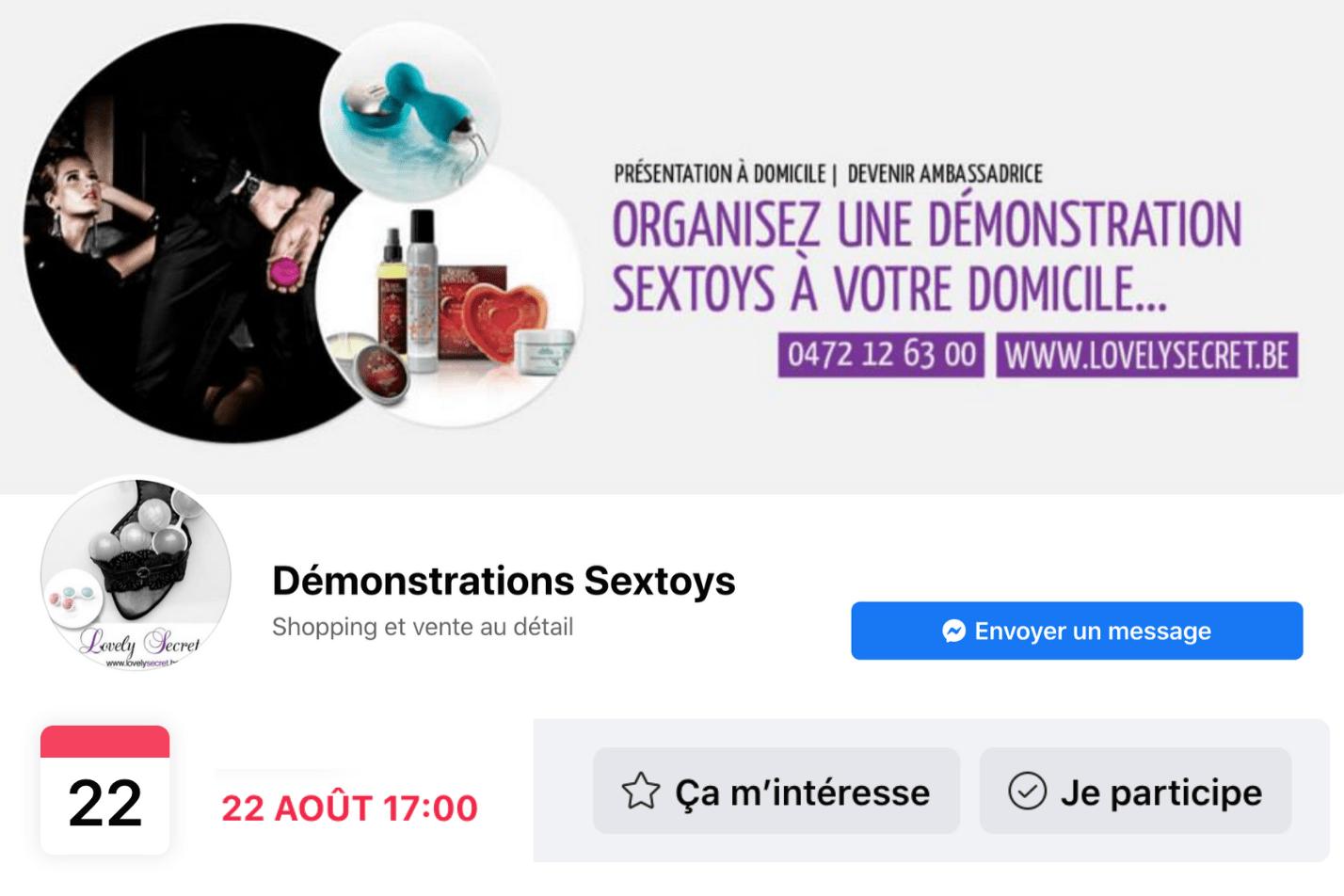 Je vriendinnen uitnodigen op een sextoy-demonstratie